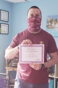 certificate for class completion